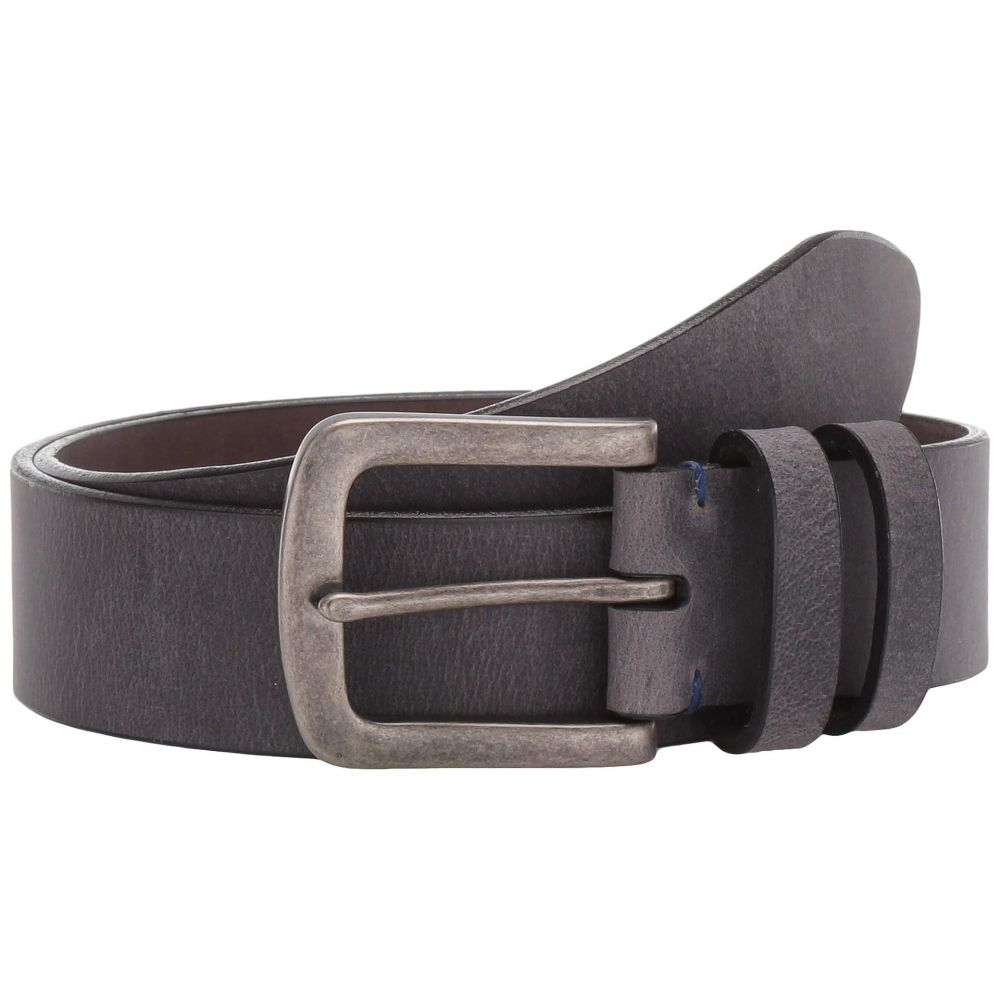 トリノレザー Torino Leather Co. メンズ ベルト 【40 mm Distressed Waxed Harness Leather】Charcoal