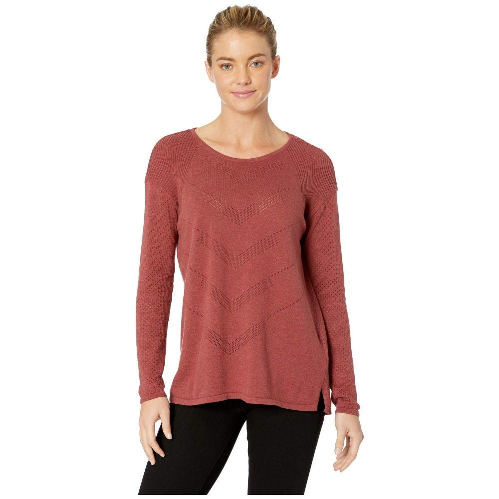 プラーナ Prana レディース ニット・セーター トップス【Mainspring Sweater】Mulled Wine Heather