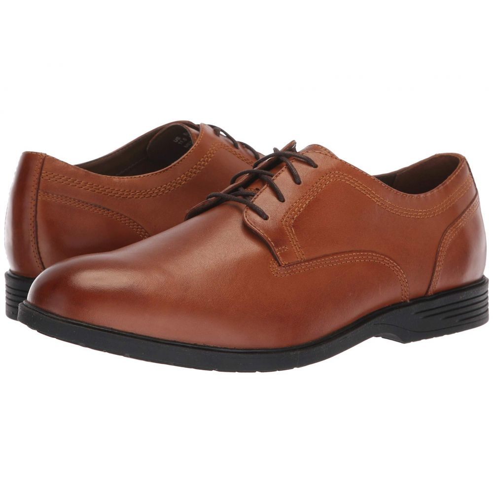 ハッシュパピー Hush Puppies メンズ 革靴・ビジネスシューズ シューズ・靴【Shepsky Plain Toe Oxford】Dark Tan Leather