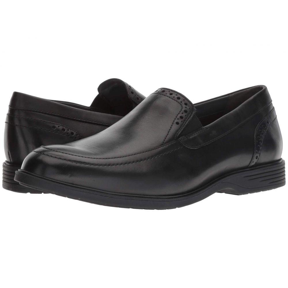 ハッシュパピー Hush Puppies メンズ スリッポン・フラット シューズ・靴【Shepsky Slip-On】Black Leather