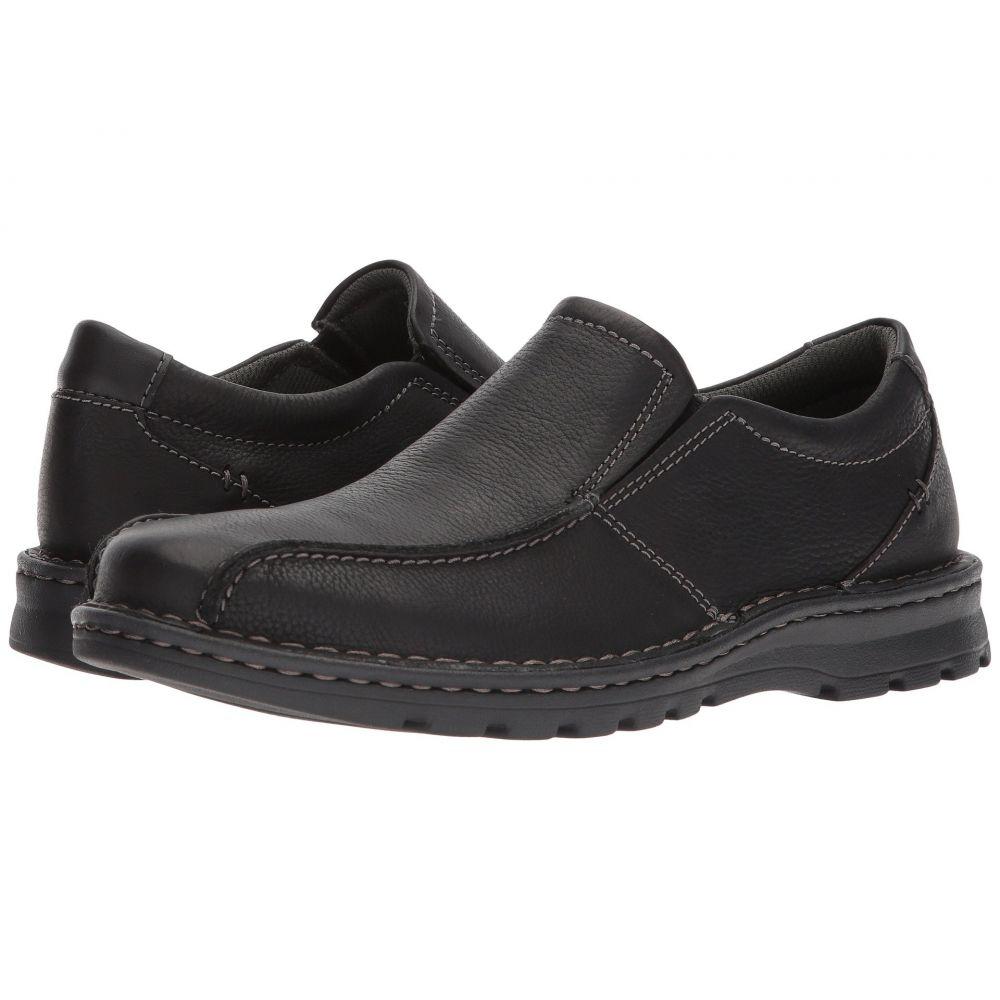 クラークス Clarks メンズ ローファー シューズ・靴【Vanek Step】Black Oily Leather