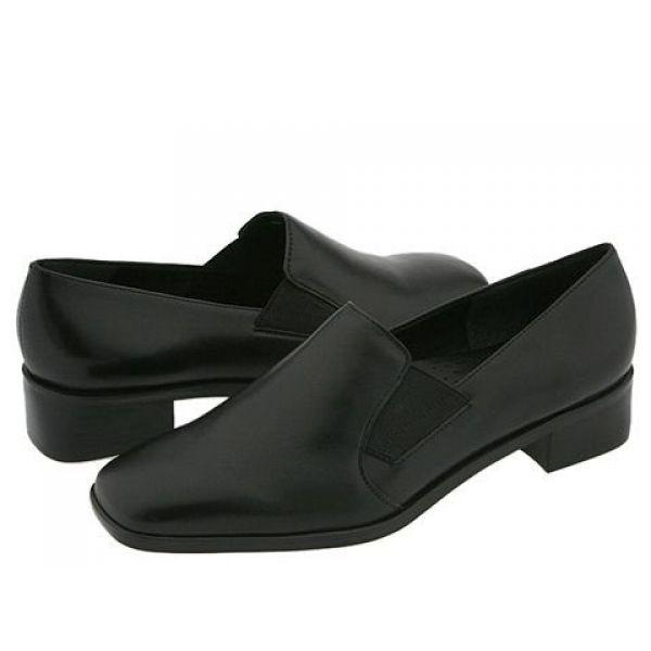 トロッターズ Trotters レディース ローファー・オックスフォード シューズ・靴【Ash】Black Nappa Glove
