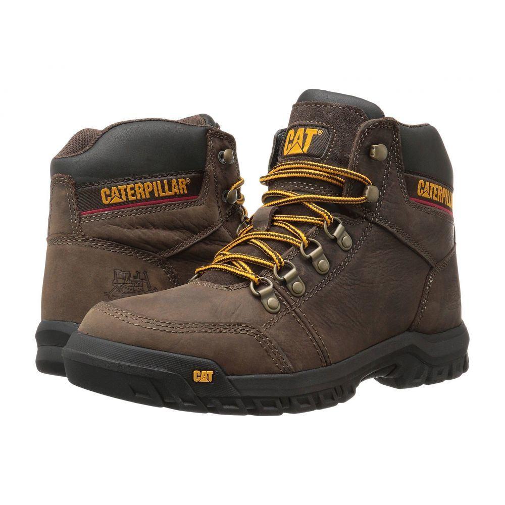 キャピタラー カジュアル Caterpillar メンズ ブーツ シューズ・靴【Outline】Seal Brown