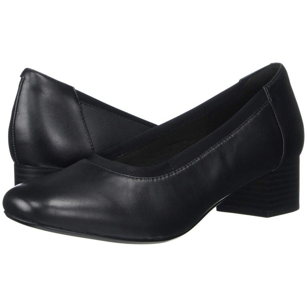 クラークス Clarks レディース ヒール シューズ・靴【Chartli Fame】Black Leather