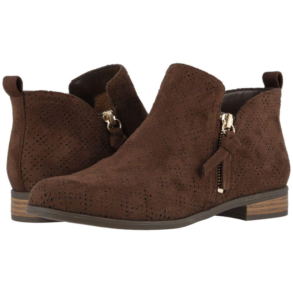 ドクター ショール Dr. Scholl's レディース ブーツ シューズ・靴【Rate Zip】Chocolate Brown Microfiber Perf