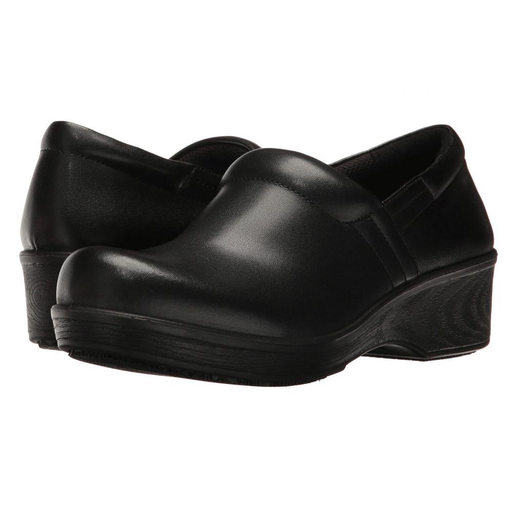 ドクター ショール Dr. Scholl's Work レディース サンダル・ミュール シューズ・靴【Dynamo】Black Leather