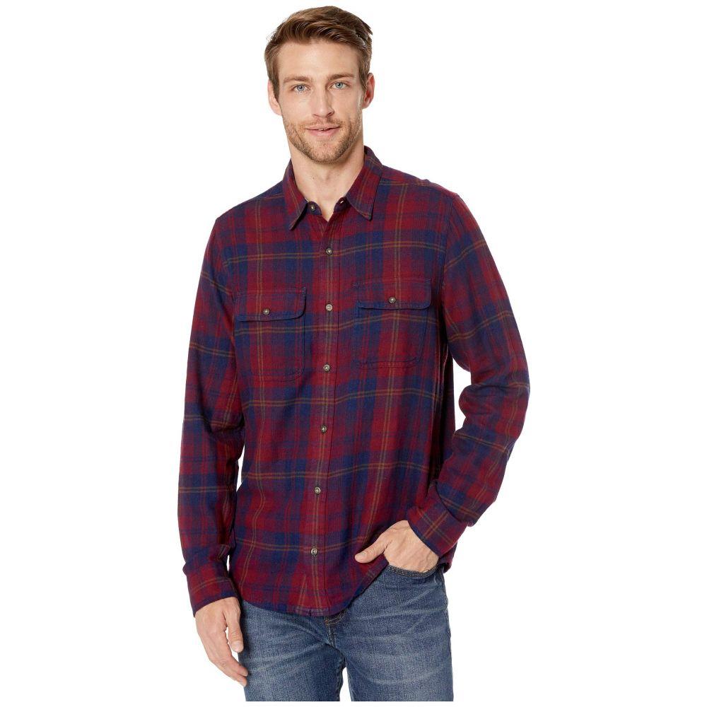 トードアンドコー Toad&Co メンズ シャツ フランネルシャツ トップス【Indigo Flannel Slim Long Sleeve Shirt】Port