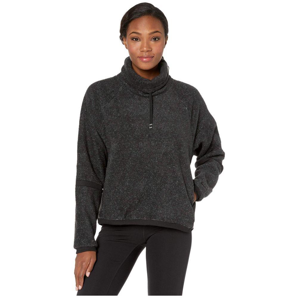 ナイキ Nike レディース フリース トップス【Therma Fleece Cowl Cozy】Black/Heather/Black/Black