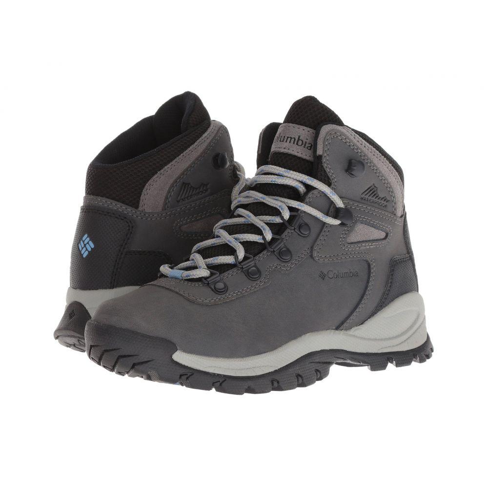 コロンビア Columbia レディース ハイキング・登山 シューズ・靴【Newton Ridge Plus】Quarry/Cool Wave