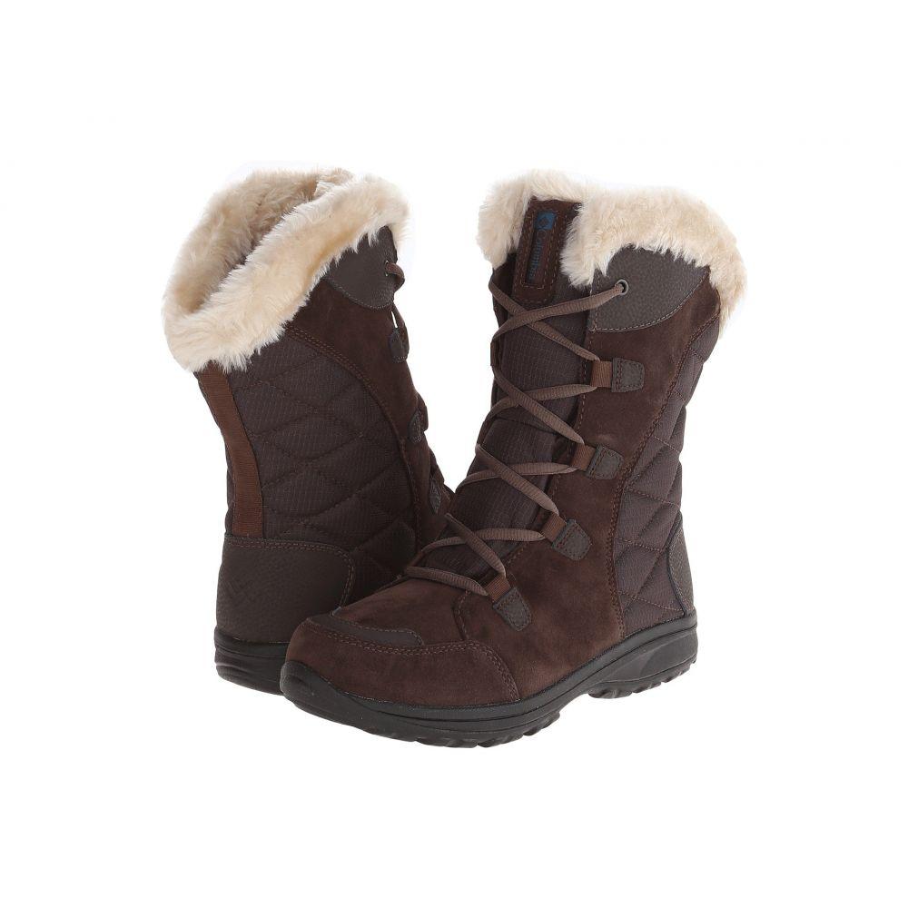 コロンビア Columbia レディース ブーツ シューズ・靴【Ice Maiden(TM) II】Cordovan/Siberia