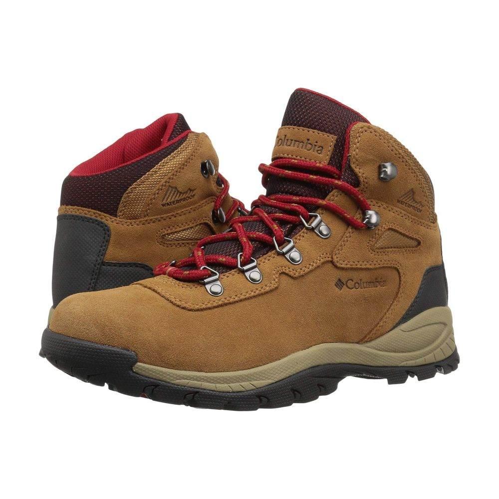 コロンビア Columbia レディース ハイキング・登山 シューズ・靴【Newton Ridge Plus Waterproof Amped】Elk/Mountain Red