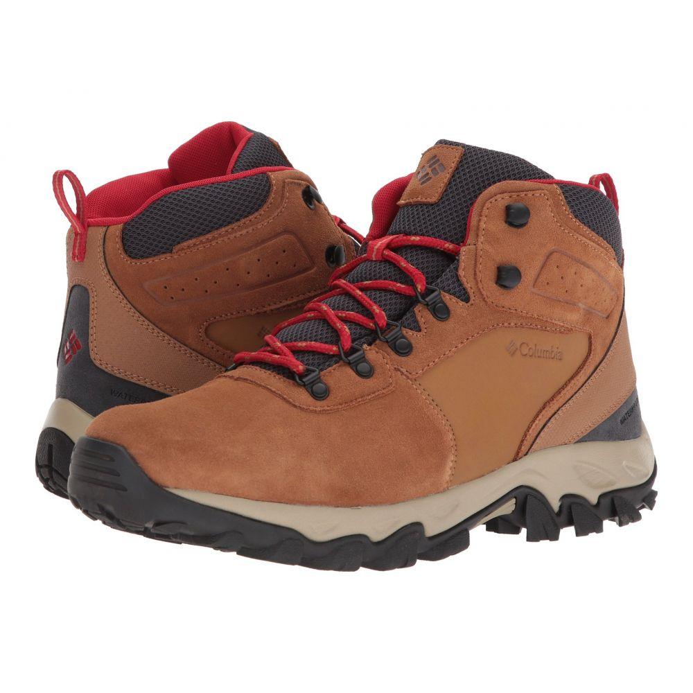 コロンビア Columbia メンズ ハイキング・登山 シューズ・靴【Newton Ridge Plus II Suede WP】Elk/Mountain Red