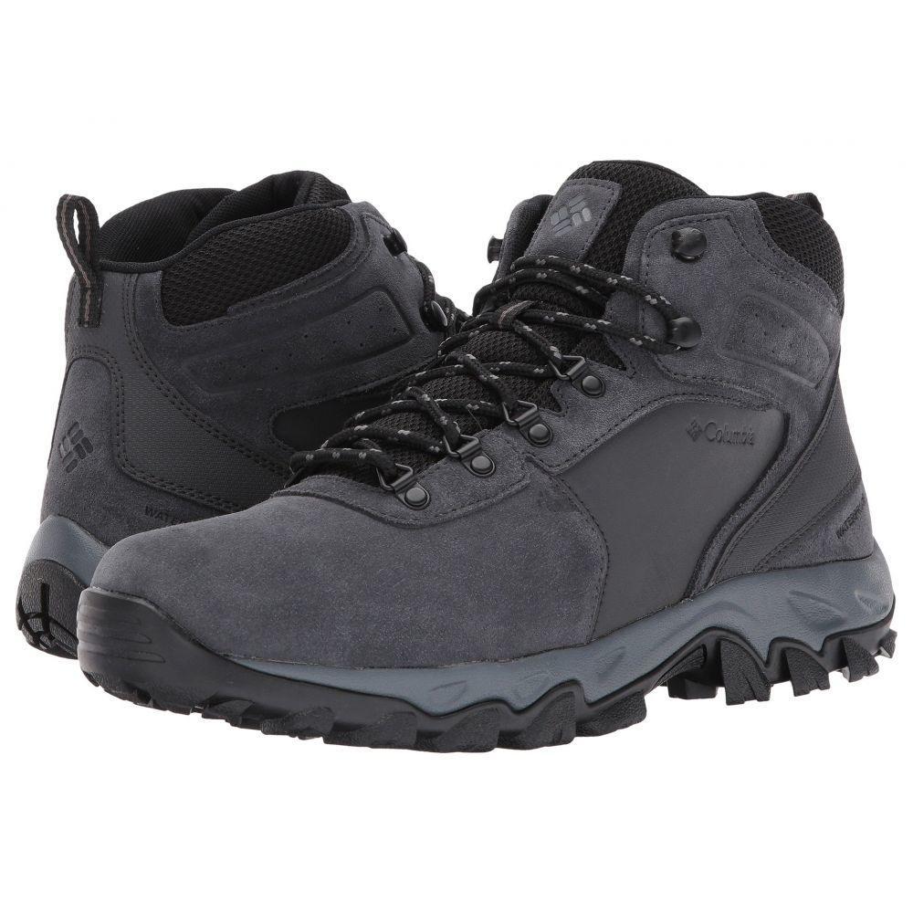 コロンビア Columbia メンズ ハイキング・登山 シューズ・靴【Newton Ridge Plus II Suede WP】Shark/Black
