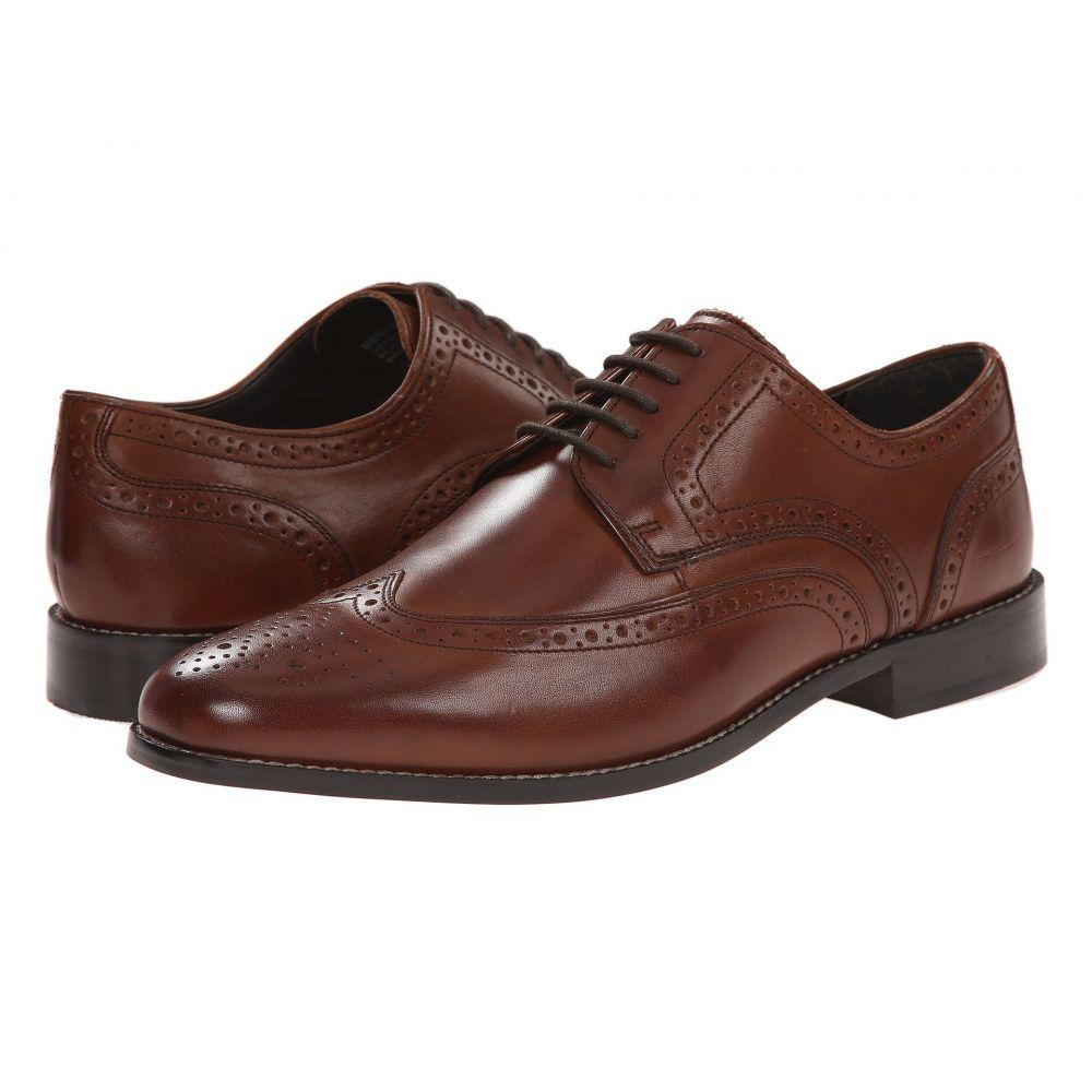 ナンブッシュ Nunn Bush メンズ 革靴・ビジネスシューズ ウイングチップ シューズ・靴【Nelson Wing Tip Dress Casual Oxford】Brown