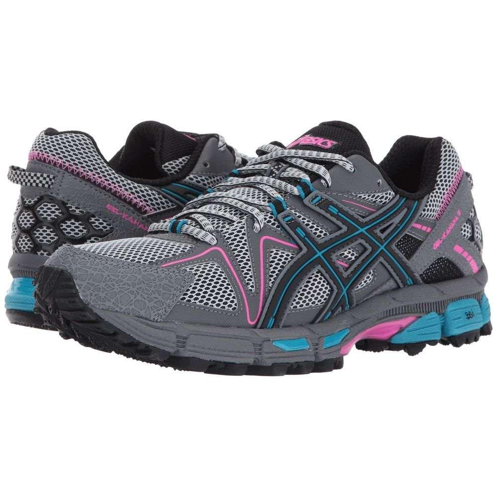 アシックス ASICS レディース ランニング・ウォーキング シューズ・靴【Gel-Kahana 8】Black/Island Blue/Pink Glow