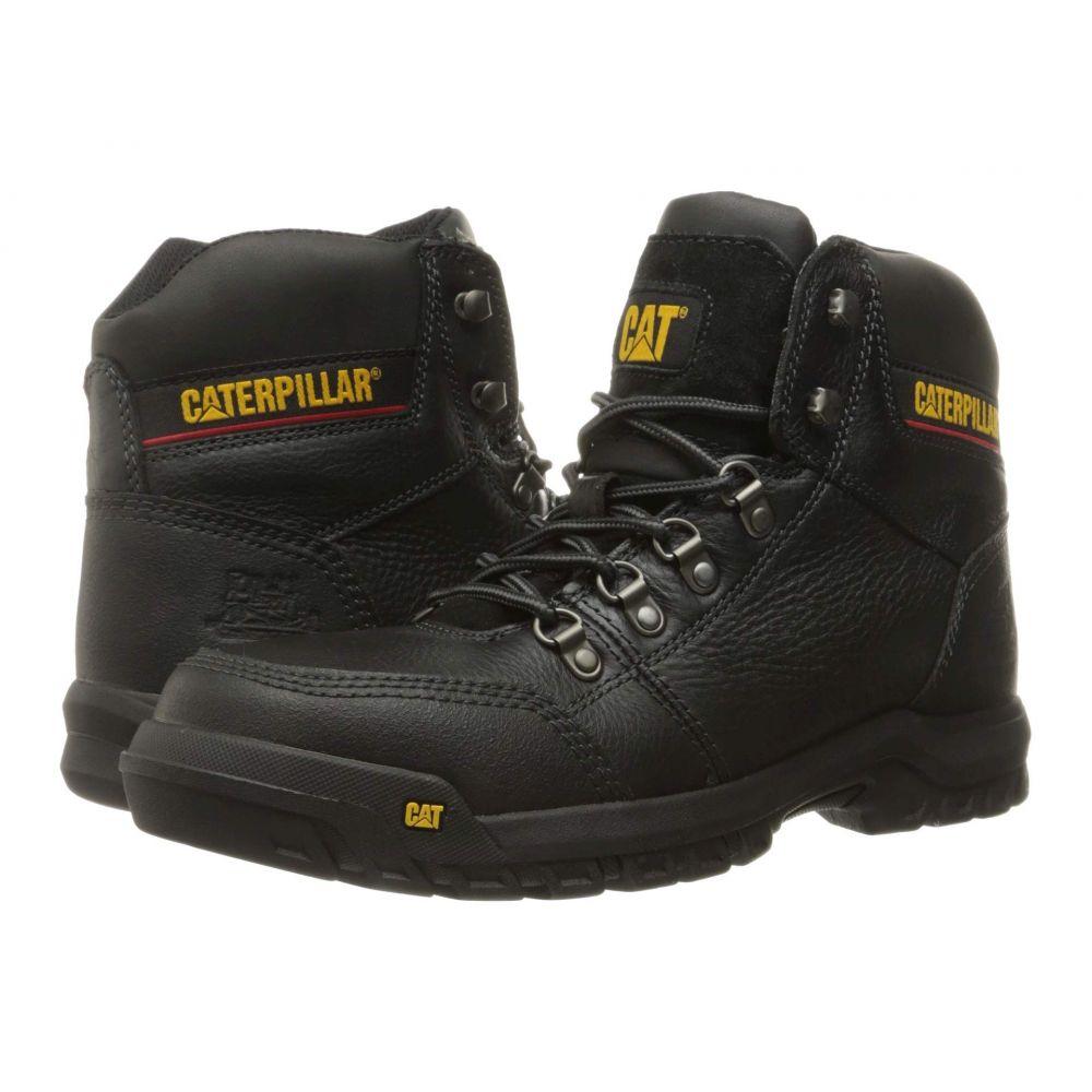 キャピタラー カジュアル Caterpillar メンズ ブーツ シューズ・靴【Outline ST】Black