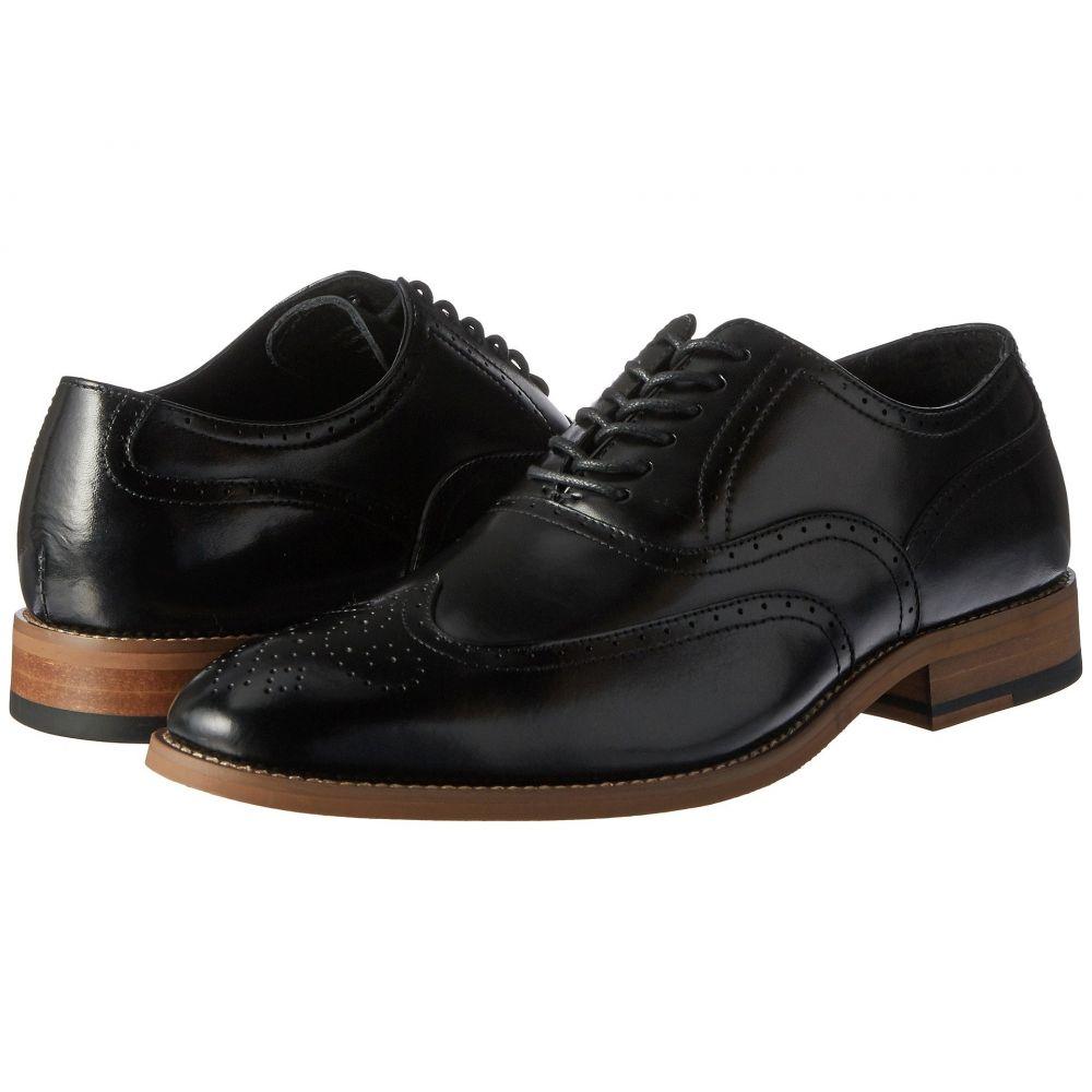 ステイシー アダムス Stacy Adams メンズ 革靴・ビジネスシューズ ウイングチップ シューズ・靴【Dunbar Wingtip Oxford】Black