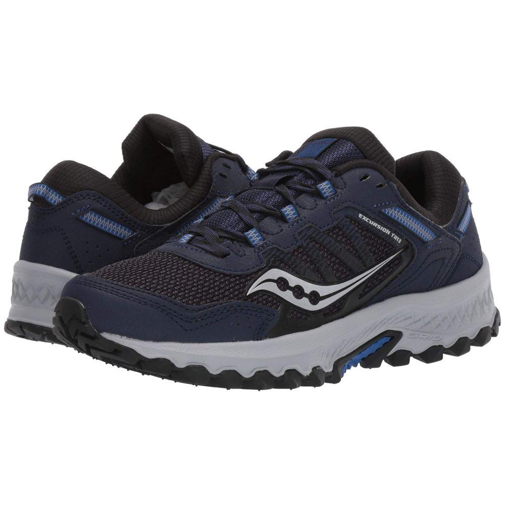 サッカニー Saucony メンズ ランニング・ウォーキング シューズ・靴【Versafoam Excursion TR13】Navy/Black