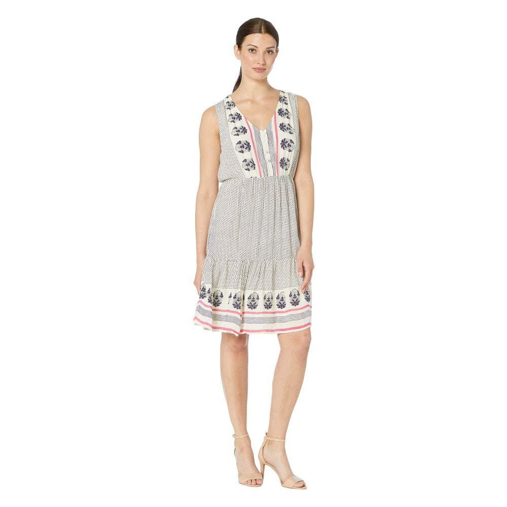 ラッキーブランド Lucky Brand レディース ワンピース ワンピース・ドレス【Luna Border Print Dress】Natural Multi