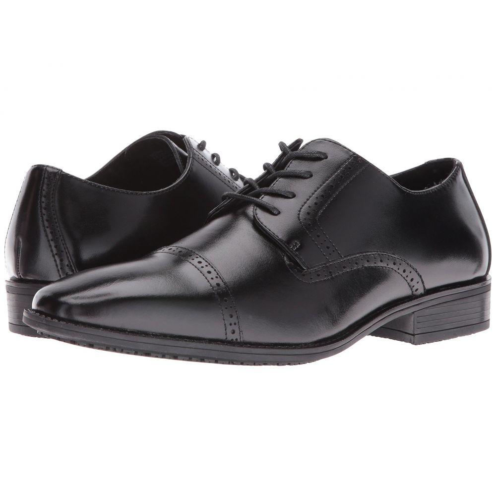 ステイシー アダムス Stacy Adams メンズ 革靴・ビジネスシューズ シューズ・靴【Abbott Slip Resistant Cap Toe Oxford】Black