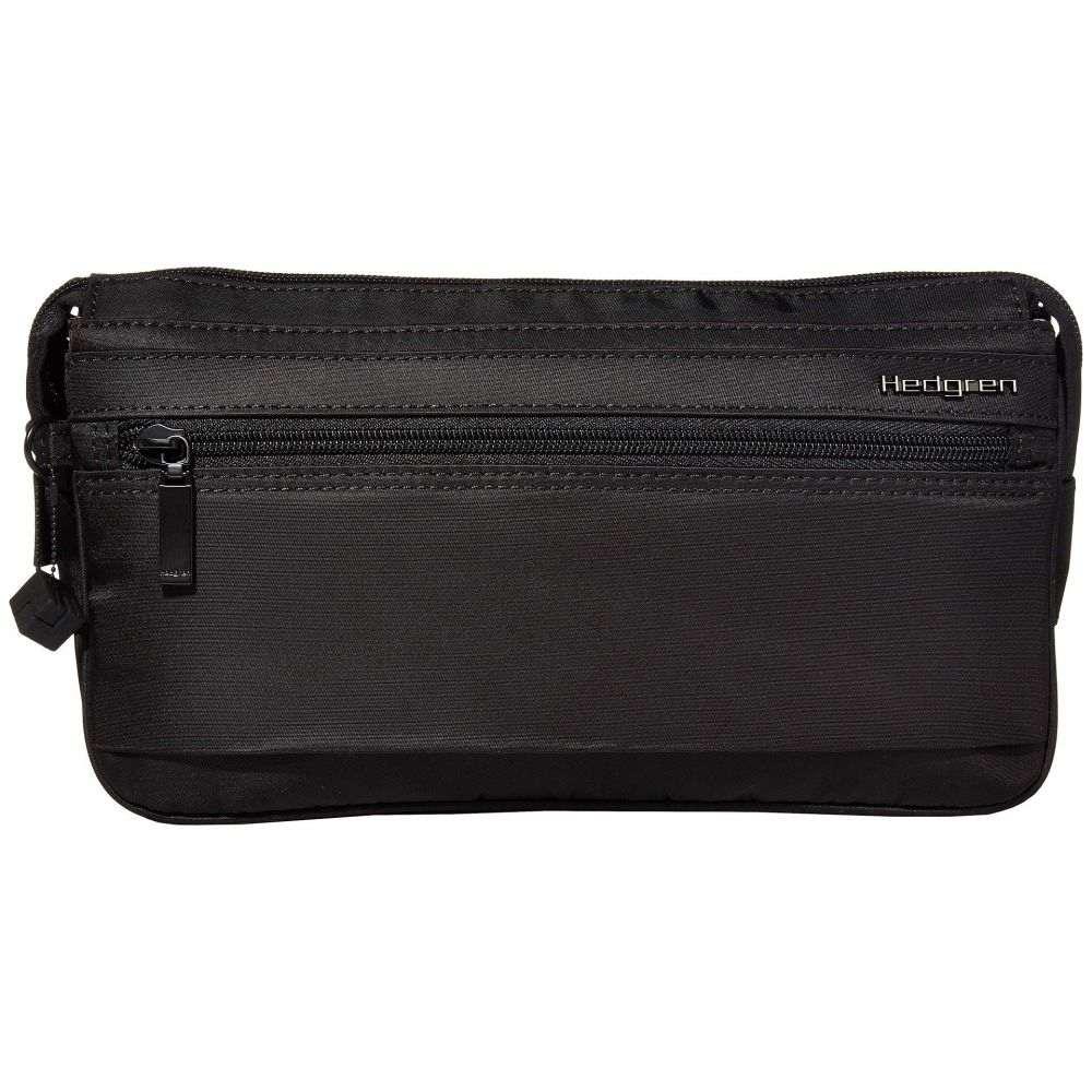 ヘデグレン Hedgren レディース ボディバッグ・ウエストポーチ バッグ【Classic Asarum RFID Waistbag】Black