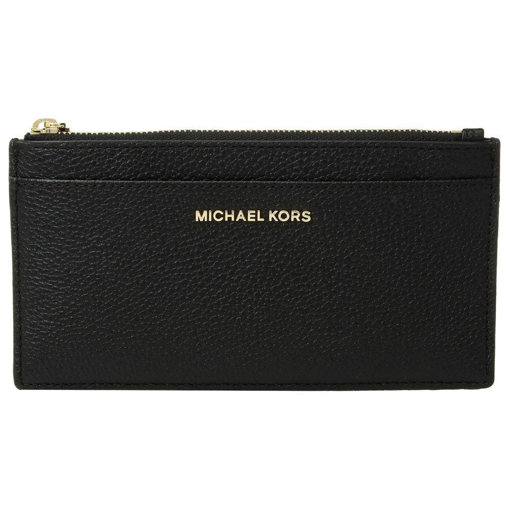 マイケル コース MICHAEL Michael Kors レディース カードケース・名刺入れ 【Large Slim Card Case】Black