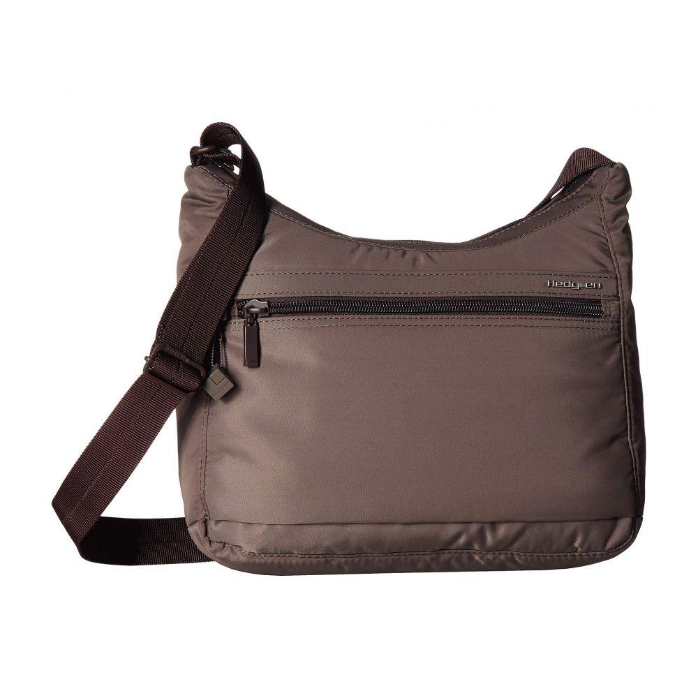 ヘデグレン Hedgren レディース ショルダーバッグ バッグ【Harper's Small RFID Shoulder Bag】Sepia/Brown