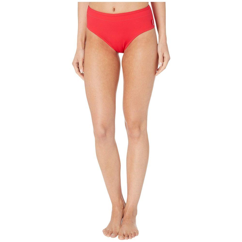 シャン SHAN レディース ボトムのみ 水着・ビーチウェア【Techno-Graph High Cut Bikini Bottoms】Grenadine