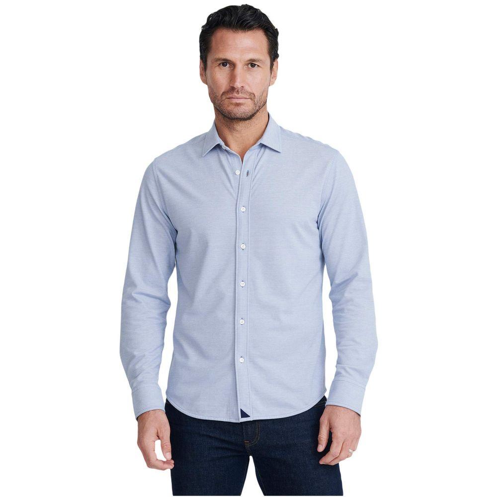 アンタックイット UNTUCKit メンズ ポロシャツ トップス【Pique Polo Button-Down】Blue