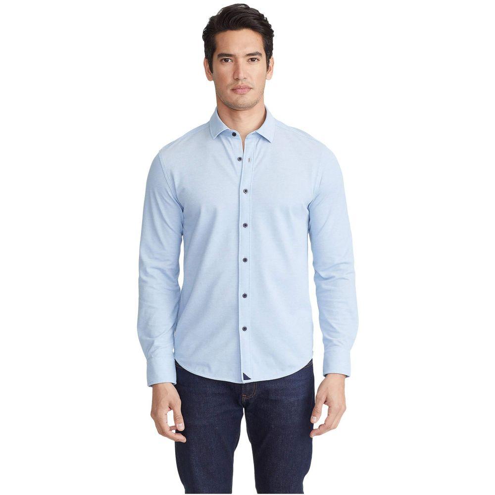 アンタックイット UNTUCKit メンズ ポロシャツ トップス【Pique Polo Button-Down】Light Blue
