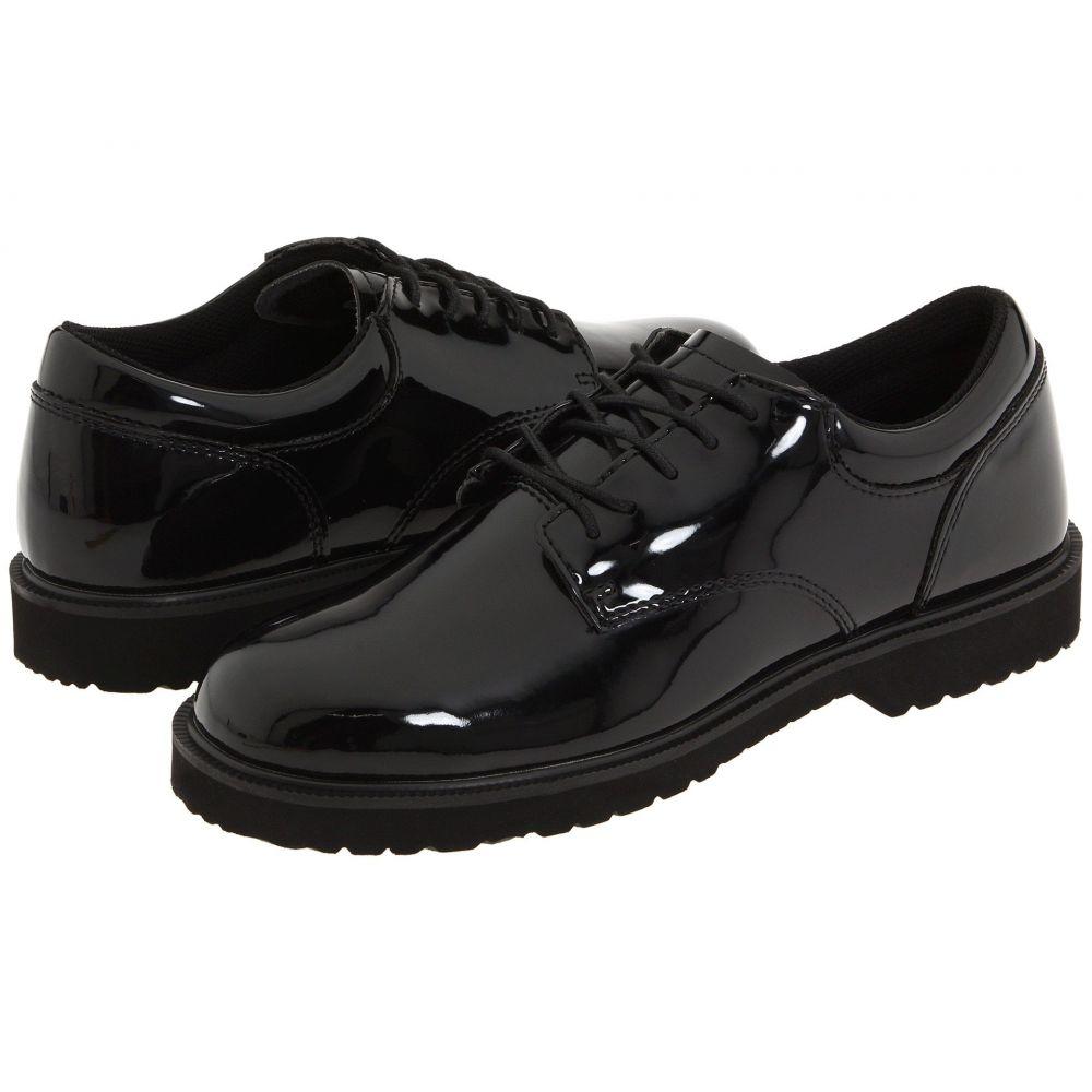 ベイツ Bates Footwear メンズ 革靴・ビジネスシューズ シューズ・靴【High Gloss Uniform Oxford】Black
