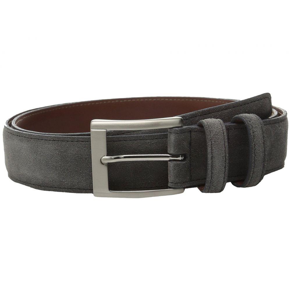 トリノレザー Torino Leather Co. メンズ ベルト 【35MM Italian Calf Suede】Gray
