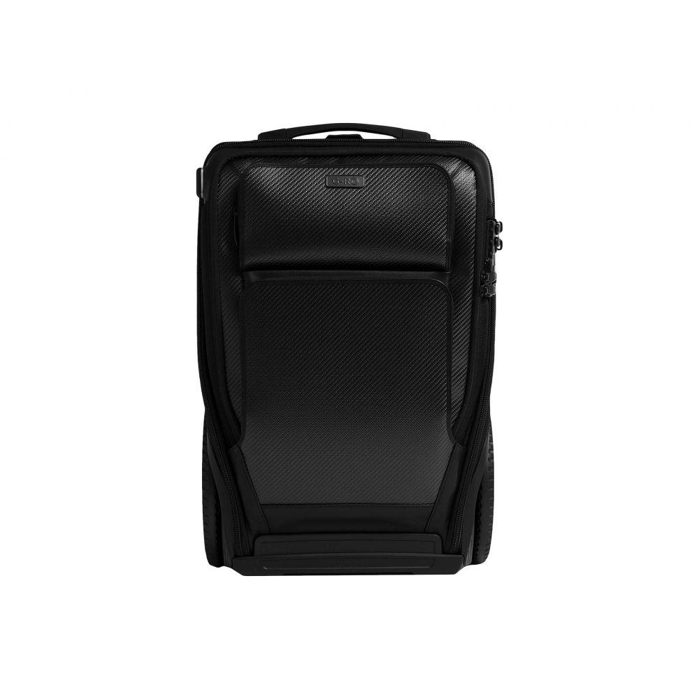 G-RO レディース スーツケース・キャリーバッグ バッグ【Carry-On Carbon Fiber】Black/Black