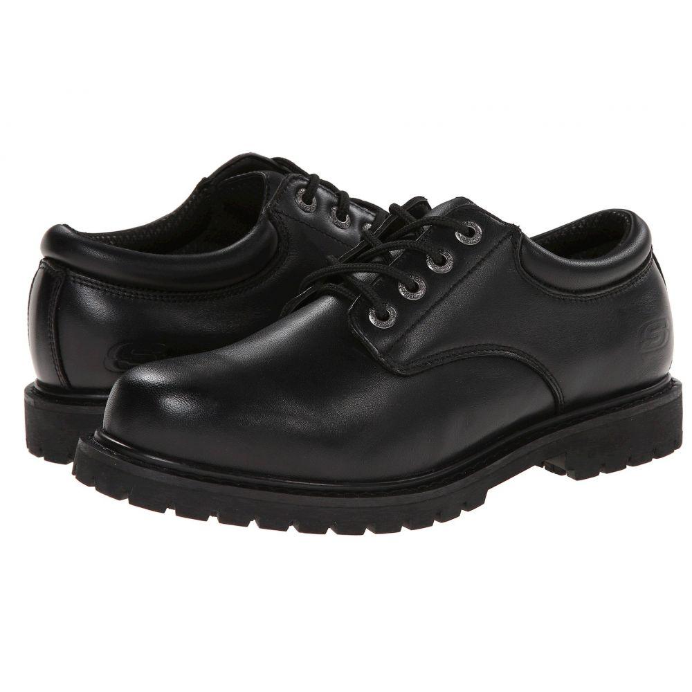 スケッチャーズ SKECHERS Work メンズ 革靴・ビジネスシューズ シューズ・靴【Cottonwood Elks】Black