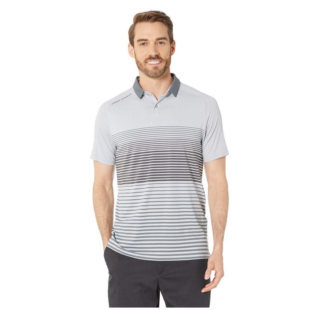 アンダーアーマー Under Armour Golf メンズ ポロシャツ トップス【Iso-Chill Power Play Polo】Mod Gray/Pitch Gray