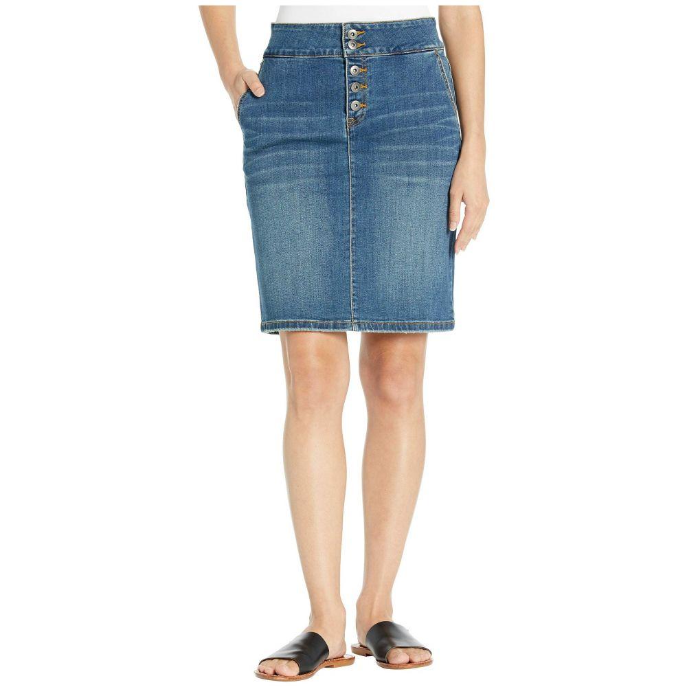 プラーナ Prana レディース スカート デニム【Aubrey Denim Skirt】Antique Blue