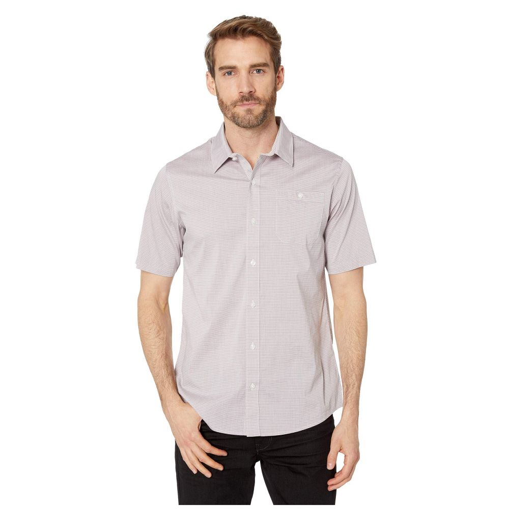 トラビスマシュー TravisMathew メンズ シャツ トップス【The Take Away Woven Shirt】Heather Eggplant