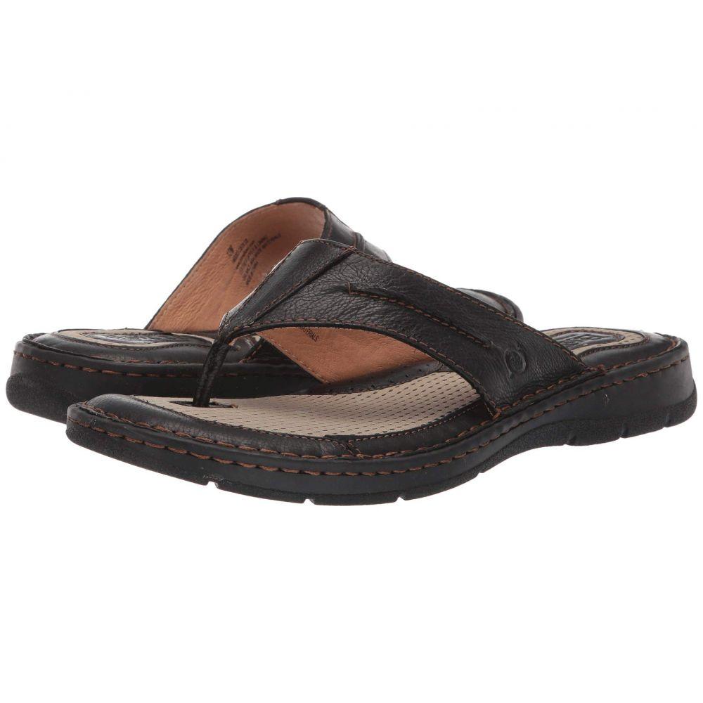 ボーン Born メンズ ビーチサンダル シューズ・靴 Whitman Black Full Grain LeatherkTXOZPiu