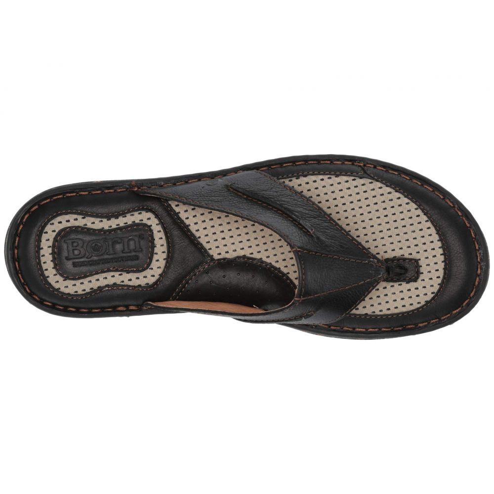 ボーン Born メンズ ビーチサンダル シューズ・靴 Whitman Black Full Grain LeatherRL54Aj