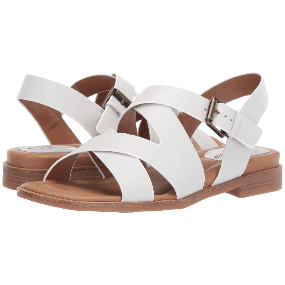 コンフォーティヴァ Comfortiva レディース サンダル・ミュール シューズ・靴【Devera】White M-Vege