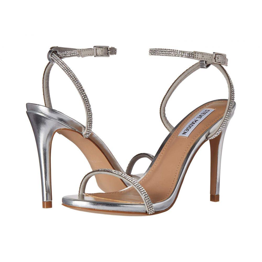 スティーブ マデン Steve Madden レディース サンダル・ミュール シューズ・靴【Festive Heeled Sandal】Silver