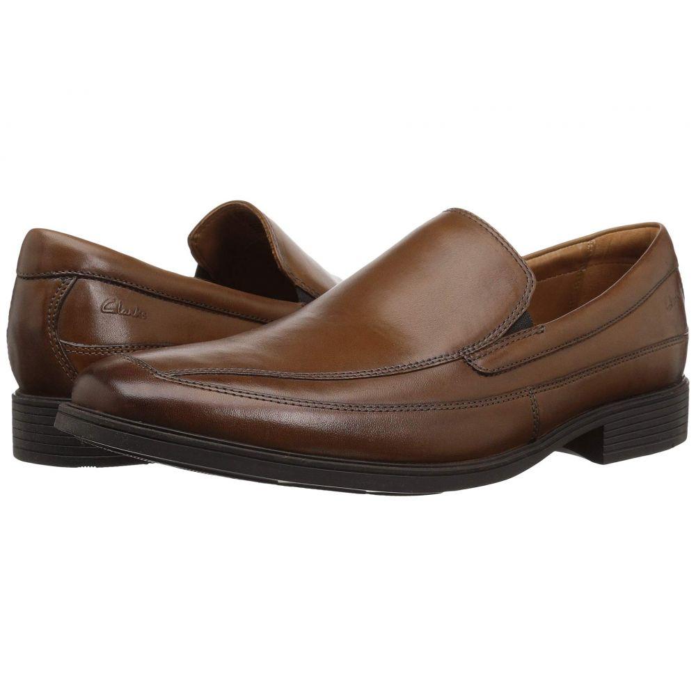 クラークス Clarks メンズ ローファー シューズ・靴【Tilden Free】Dark Tan Leather