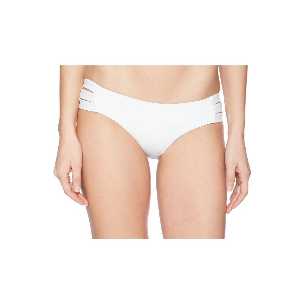 ビタミン A Vitamin A Swimwear レディース ボトムのみ 水着・ビーチウェア【Emelia Triple Strap Bottom】Eco White