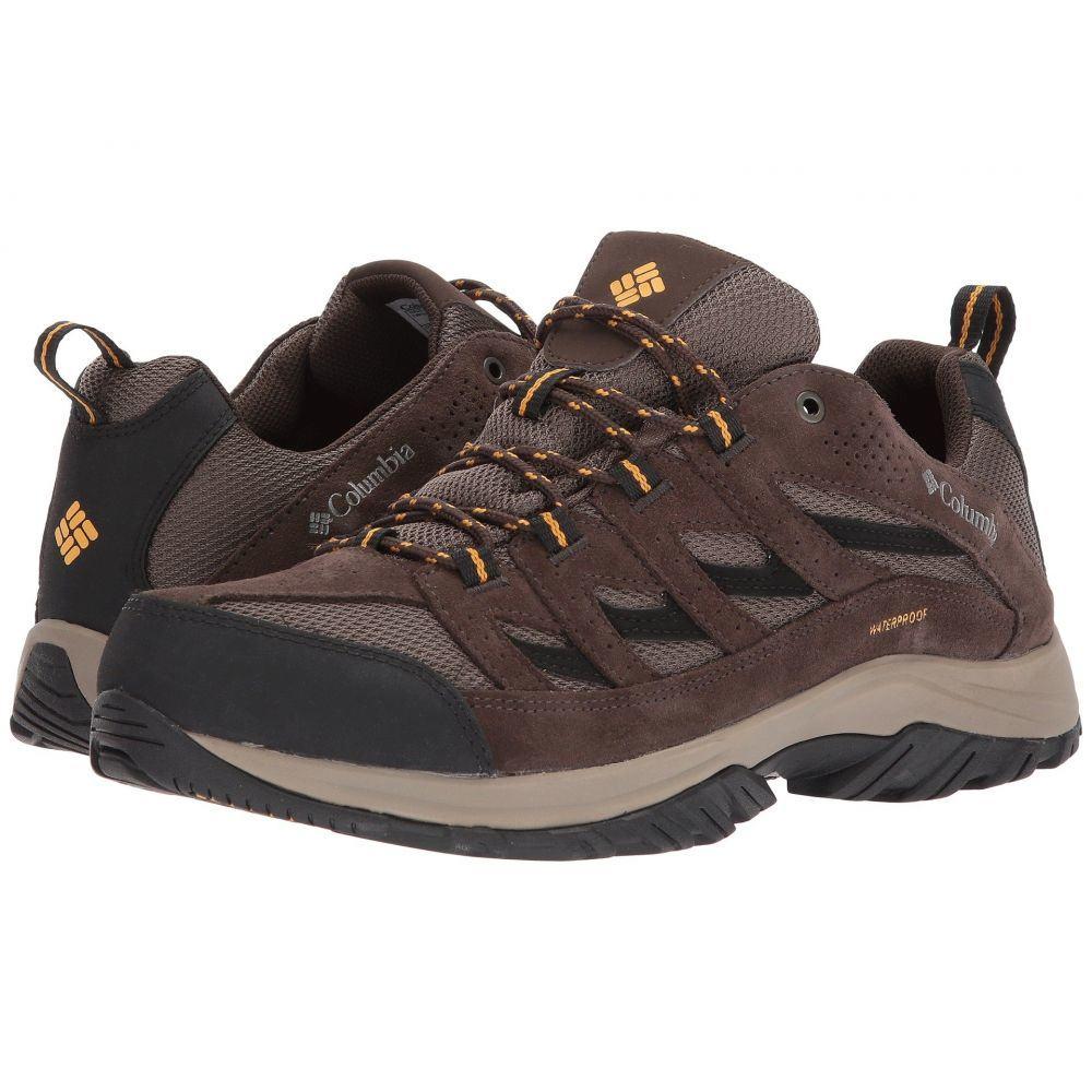 コロンビア Columbia メンズ ハイキング・登山 シューズ・靴【Crestwood Waterproof】Mud/Squash