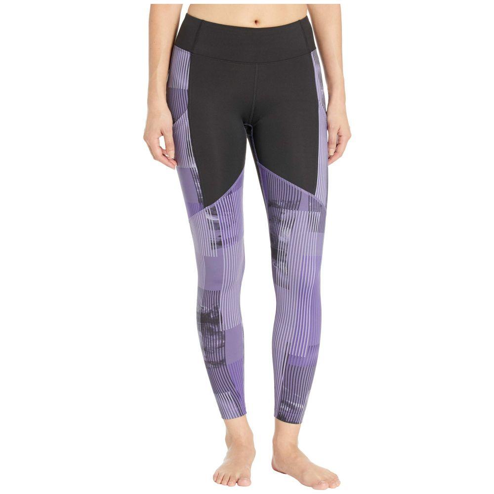 アシックス ASICS レディース スパッツ・レギンス インナー・下着【Printed Train Leggings】Performance Black/Dusty Purple