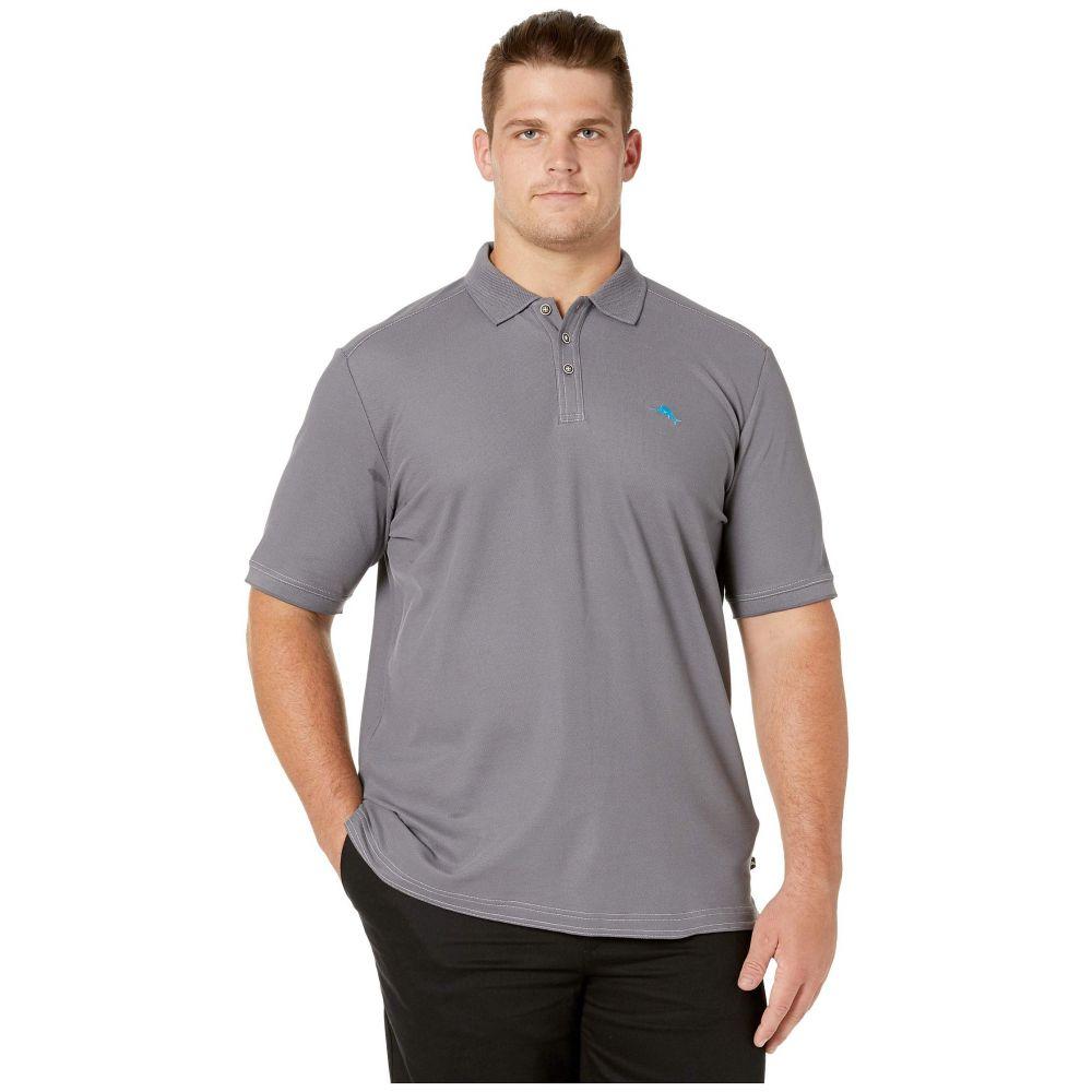 トミー バハマ Tommy Bahama Big & Tall メンズ ポロシャツ 大きいサイズ トップス【Big & Tall Emfielder 2.0 Polo】Dark Slate