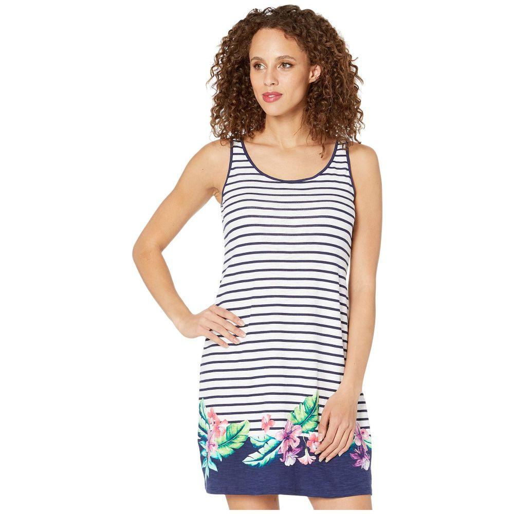 トミー バハマ Tommy Bahama レディース ワンピース ワンピース・ドレス【Villa Ibisco Stripe Dress】Island Navy