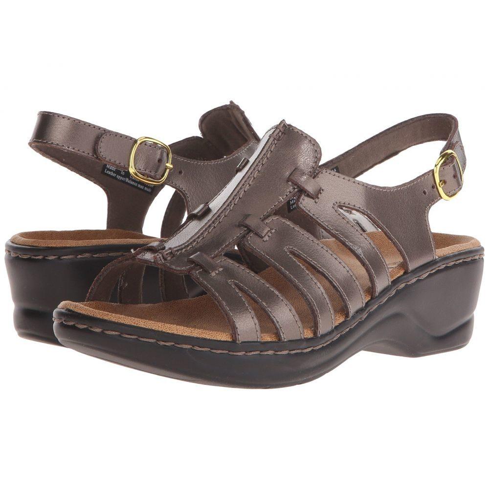クラークス Clarks レディース ヒール シューズ・靴【Lexi Marigold Q】Pewter Leather