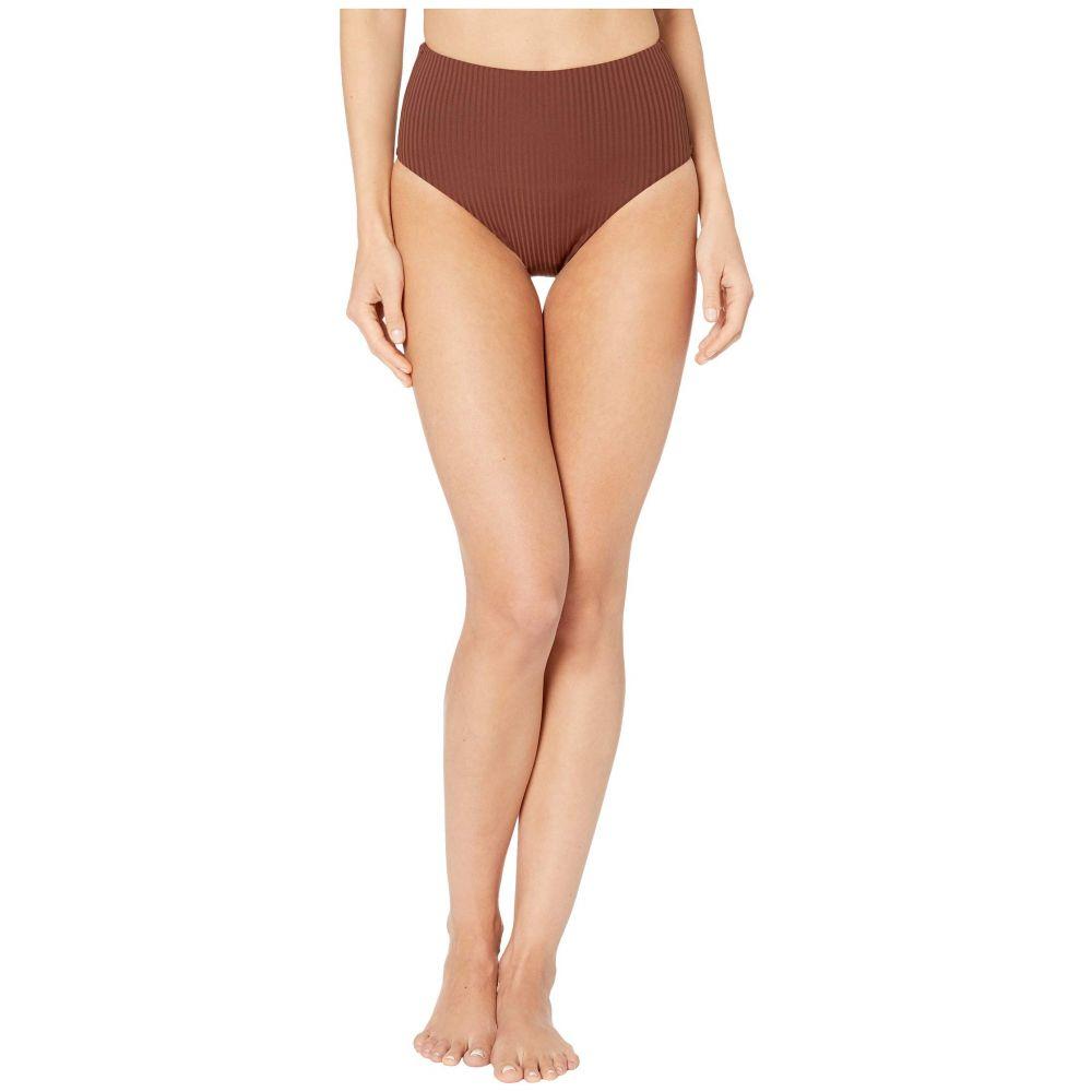 ビタミン A Vitamin A Swimwear レディース ボトムのみ 水着・ビーチウェア【Barcelona Bottoms Full】Vintage Brown EcoRib