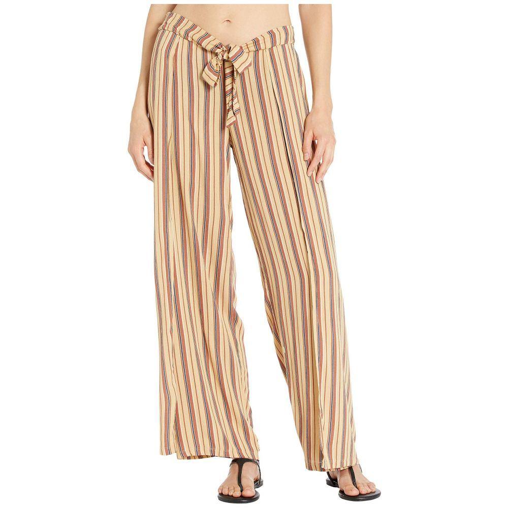 ベッカ BECCA by Rebecca Virtue レディース ビーチウェア ラップパンツ ボトムス・パンツ 水着・ビーチウェア【South Hampton Stripe Mock Wrap Pants Cover-Up】Multi